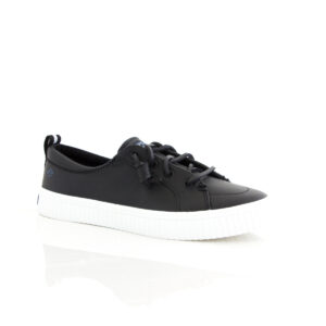 Sperry Crest Vibe Creeper Black 80641 Womens Boat Shoes Sneakers