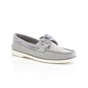 Sperry A/O Satin Lace Grey 82668 Womens Boat shoes
