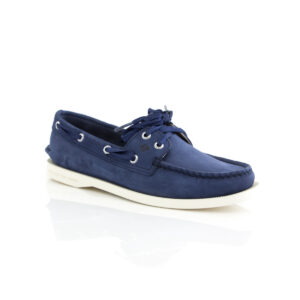 Sperry A/O Satin Lace Navy 82669 Womens boat shoes