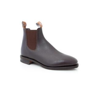 R M Williams Comfort Craftsman Chestnut Boots