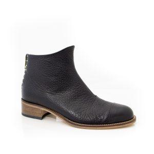 Beau Coops Beau5 Montone Black Grained Boots