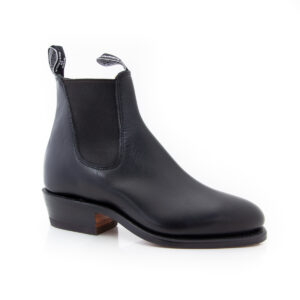 R M Williams Lady Yearling Black Boots