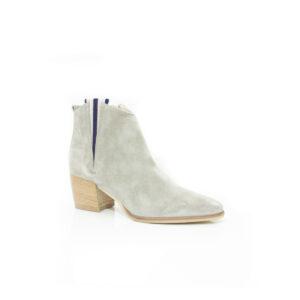 Donna Carolina Izzy Grey Suede boots