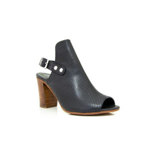 Piampiani Lugano Black 7804F sandal heels