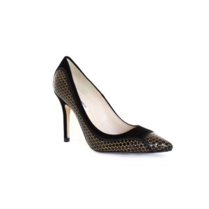 L.K.Bennett Zuri Black/Gold Womens Heels
