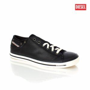 Diesel Exposure Low I Black Mens Sneakers