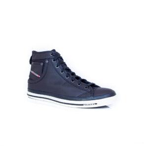 Diesel Exposure I Mens Blue Nights PR052 hi-top sneaker
