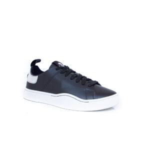 Diesel S-Clever LS Womens Black/Silver YO1985 sneakers