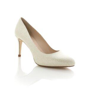 L.K.Bennett Saffi Soft Gold Womens Heels