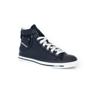 Diesel Exposure IV High Womens Black Hi Top Sneakers