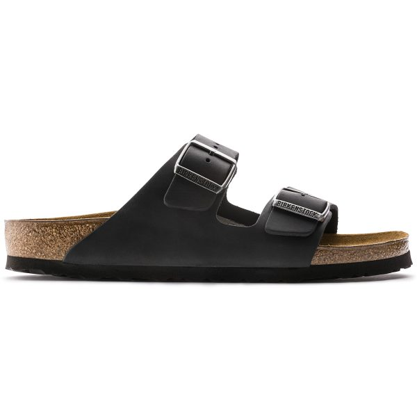 Birkenstock Arizona Black Oiled Leather 552111