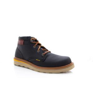 CAT Jackson Mid Black Mens Boot