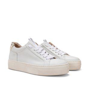 Donna Carolina Alina White Sneaker