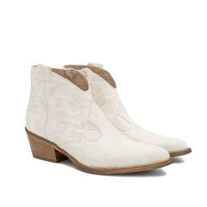 Donna Carolina Gianna Bianco Boot