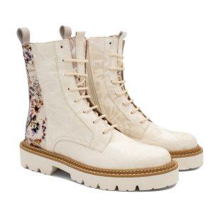 Donna Carolina Katrina Bianco Boots