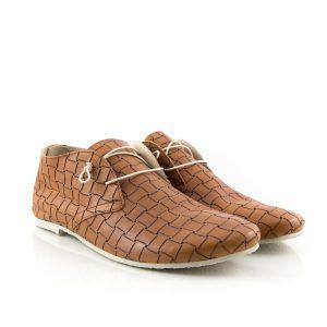 Donna Carolina Cruz Cuoio shoe